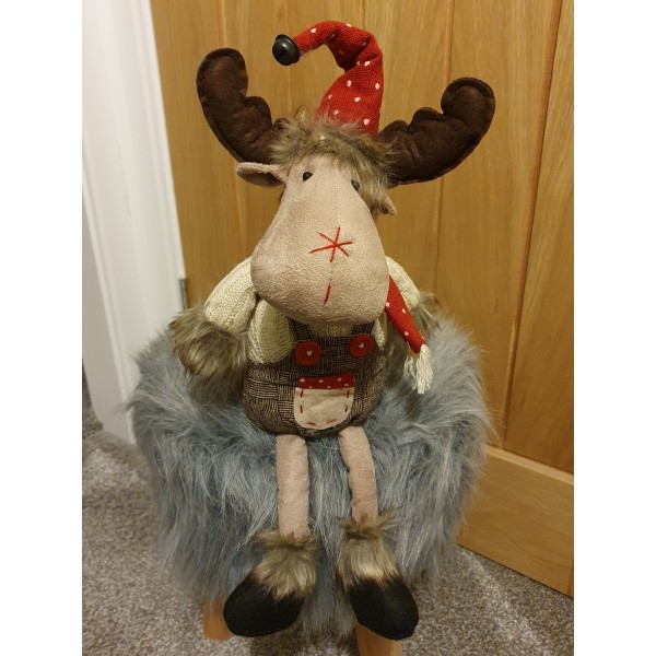 Moose With Dungarees