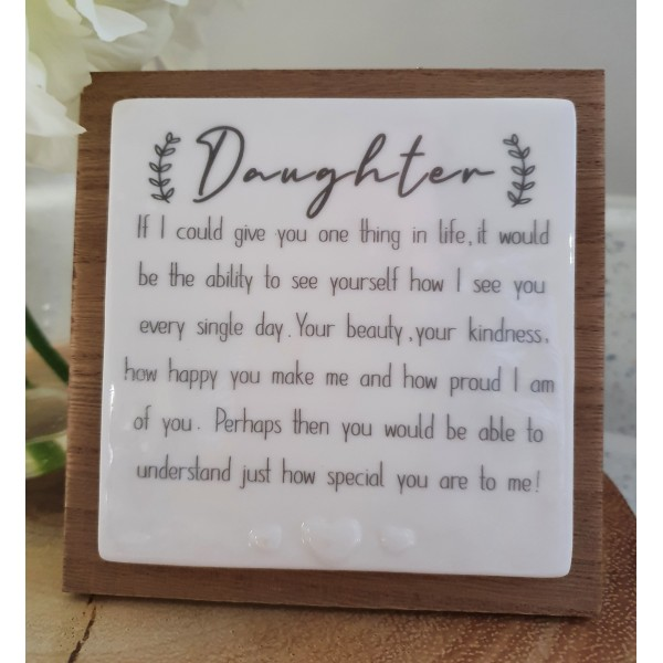 Forever Card - Daughter