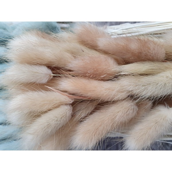 Fluffy Bunny Tails - Golden