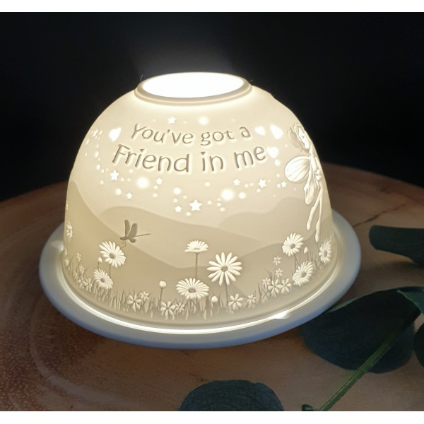 Friend Candle Holder